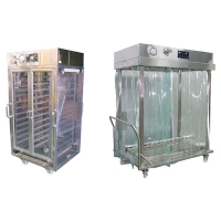 Aseptic material van with UPS