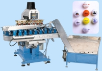 6 Color Golfballs Pad Printing Machine