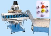 6 Color Golfballs Pad Printing Machine