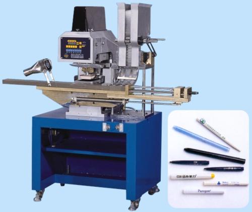 自动送料单色笔管移印机