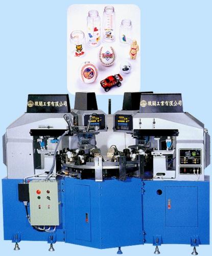 组合式4色移印机