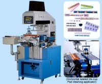 Horizontal Sealed Ink-Cup Pad Printing Machine