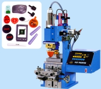 One Color With Table Base Pad Printing Machine