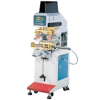 Two Color Slide Shuttle Pad Printing Machine