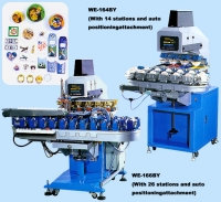 Four To Six Color Pad Printing Machine