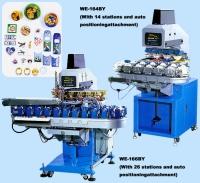 4色移印機(14格印刷定位裝置) / 精密型6色移印機(26格印刷定位裝置)