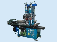 Heat transfer machine with double roller
