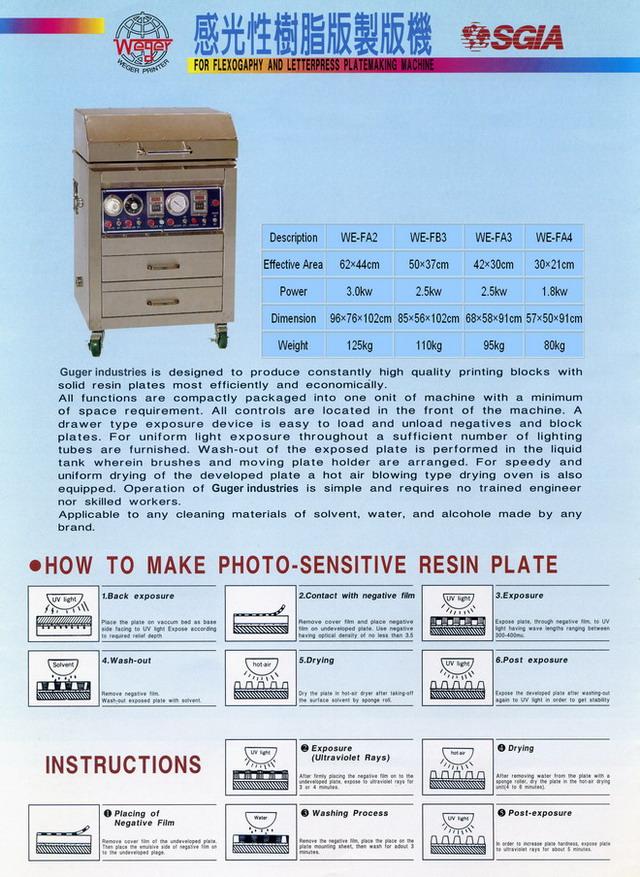 树脂版制版机
