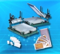 Manual printing Table/Squeegee handle/Aluminum Frame