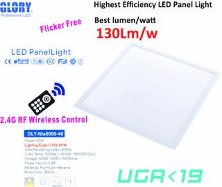 2.4G RF Remote high end Panel Light