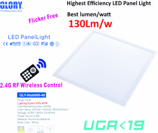 2.4G RF Remote high end Panel Light