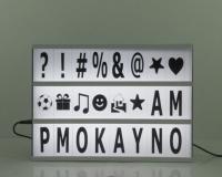 LED 字母造型装饰灯