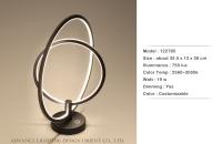 Double Circle Desk Lamp
