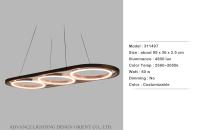 Cens.com Three Circle Chandeliers ADVANCE LIGHTING DESIGN ORIENT CO., LTD.