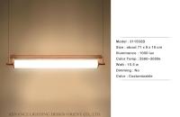 高硼玻璃管吊燈