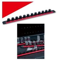 Metric & SAE Magnetic socket rack w/handle