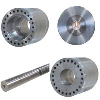 Metal round bar/ shafts drill machining
