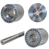 Metal round bar/ shafts drill machining
