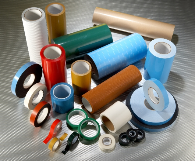 Pressure-sensitive adhesive double sided tape for industrial applications