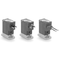 Series PDV directly operated solenoid valves with separating diaphragm