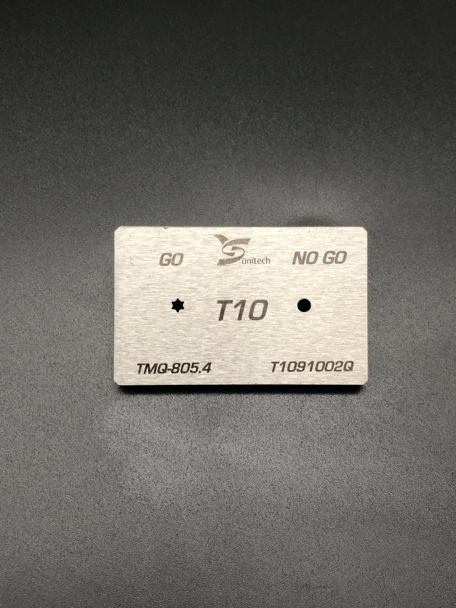T10梅花量规