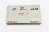 T3 Screwdriver bits gauge