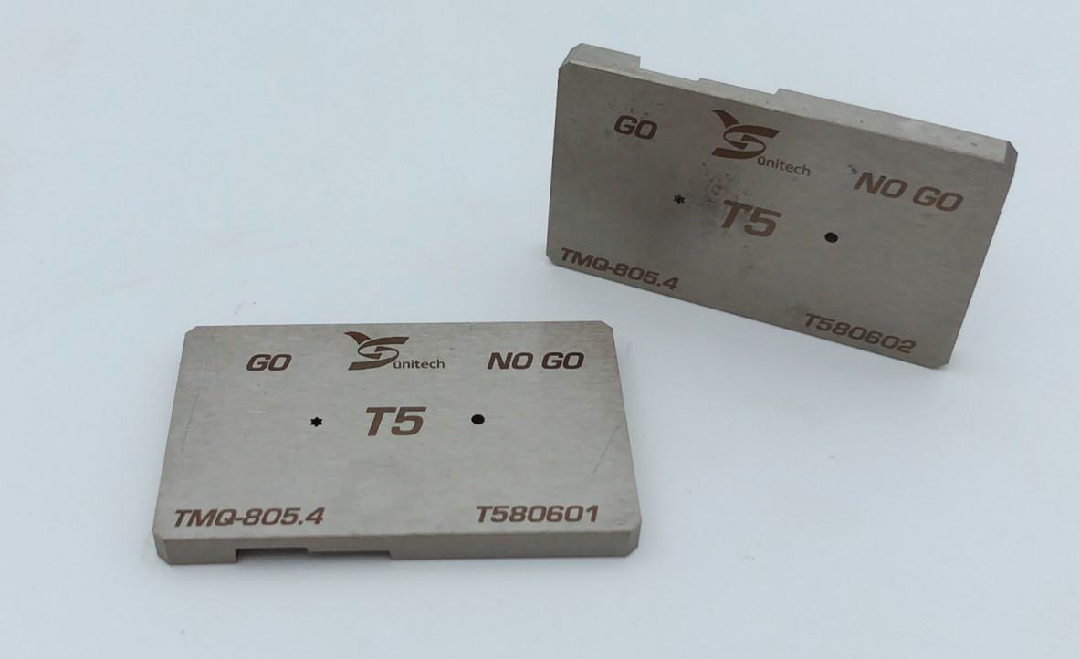 T5 Screwdriver bits gauge
