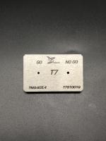 T7 Screwdriver bits gauge