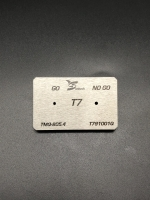 T7 Screwdriver bits gauge