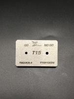 T15 Screwdriver bits gauge