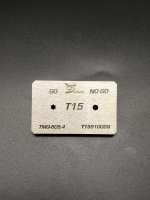 T15 Screwdriver bits gauge