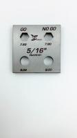 HEX Screwdriver bits gauge