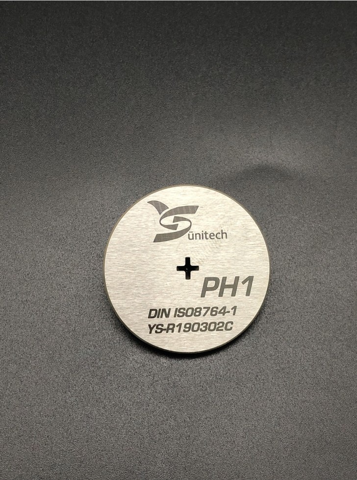 PH1 Phillips Screwdriver bits gauge
