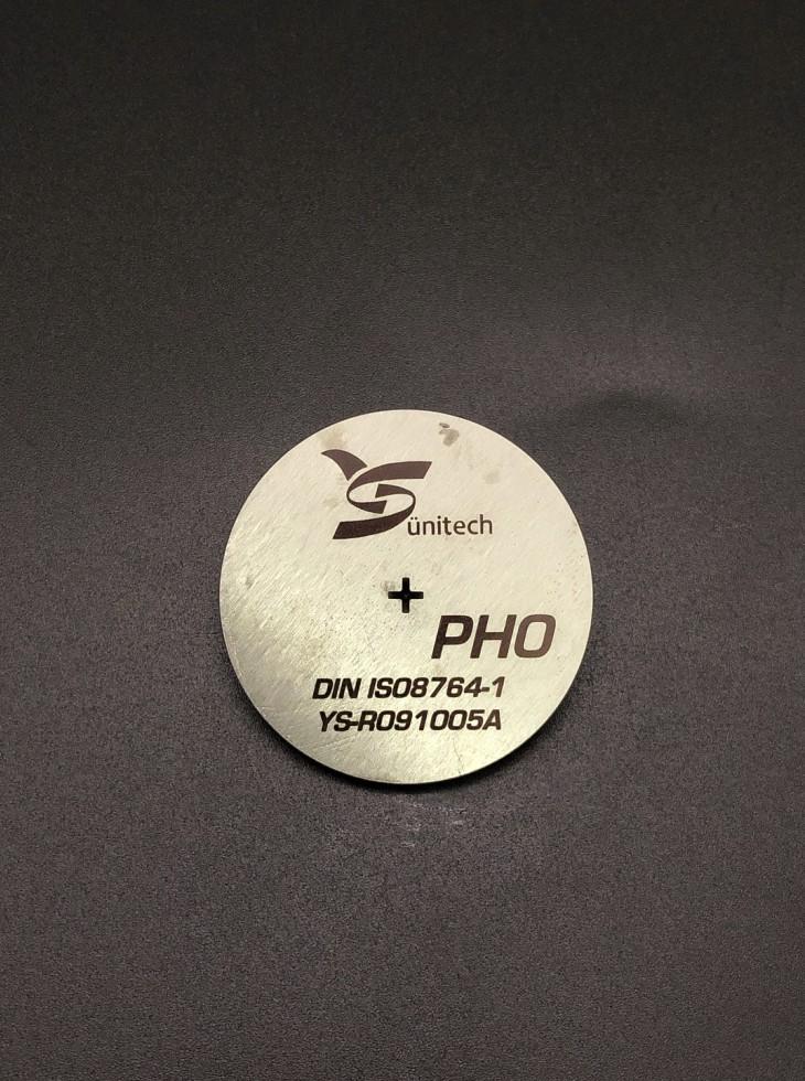 PH0 Screwdriver bits gauge