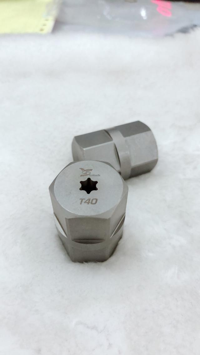 TX40 Torque test block