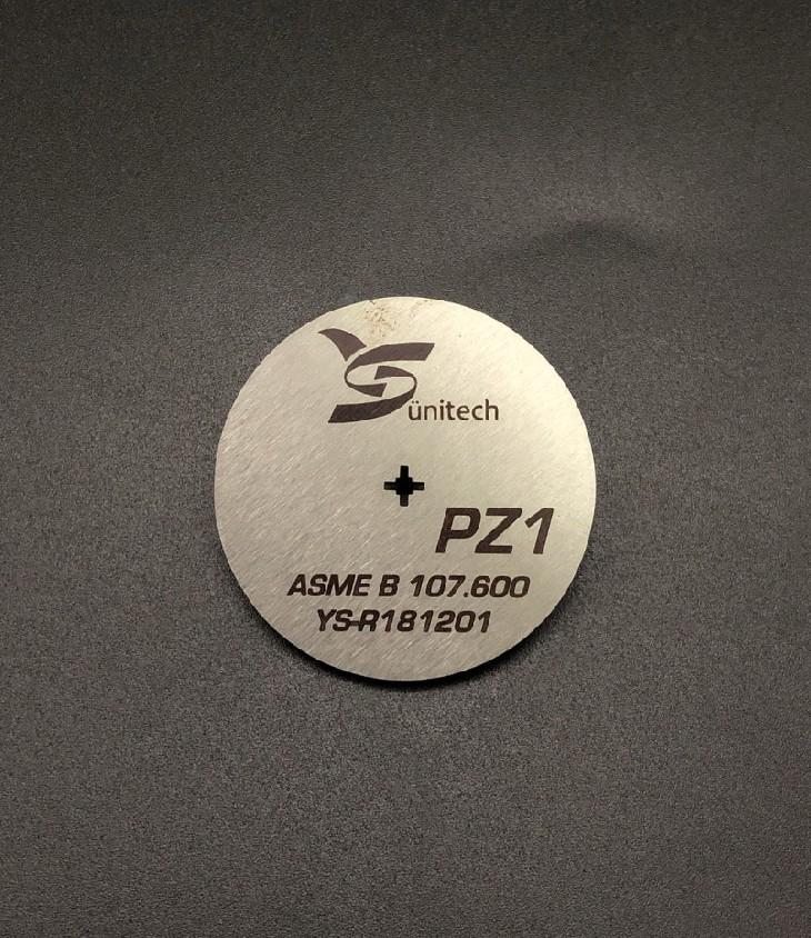 PZ1 Phillips Screwdriver bits gauge