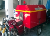 MUTLI-PURPOSE MOTOR CAFS FIRE FIGHTING TRICYCLE