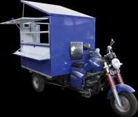 多功能三轮摩托行动餐车