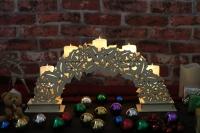 Candle bridge light