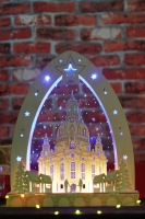 Dresdner Frauenkirche light