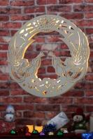 Angel Wreath light