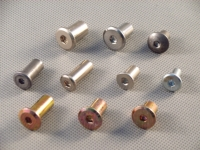 Flanged rivet nuts