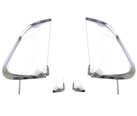 VW Beetle Vent Wing in Chrome finished, Left/Right for SEDAN T-1
