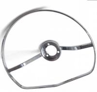 VW Chrome horn ring full moon style for steering wheel