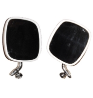 VW Side View Mirror, Stainless Steel for Bus `68-`79 (Left & Right)