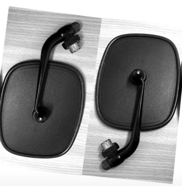 VW Side View Mirror, Lacquer , Left  & Right side, fits for Bus '68-'79