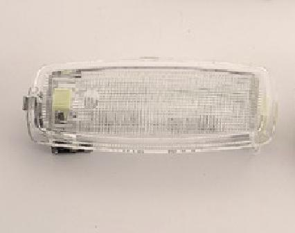 VW Dome Light with  Clear Edges for Type 2  1968 -1979
