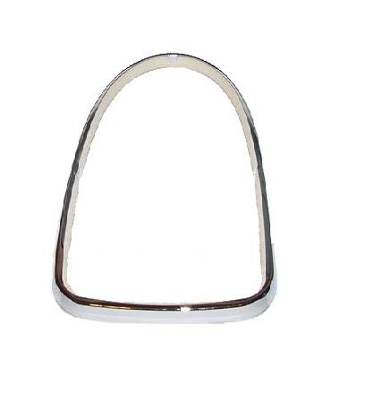 VW Tail Light triple chrome ring with seal (Large)