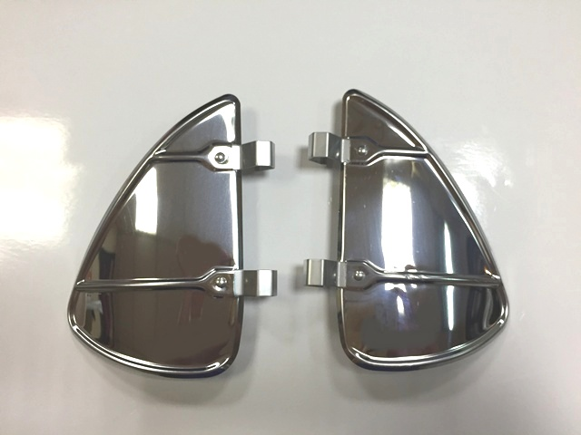 VW VENT WINDOW BREEZIES in stainless