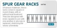 SPUR GEAR RACKS